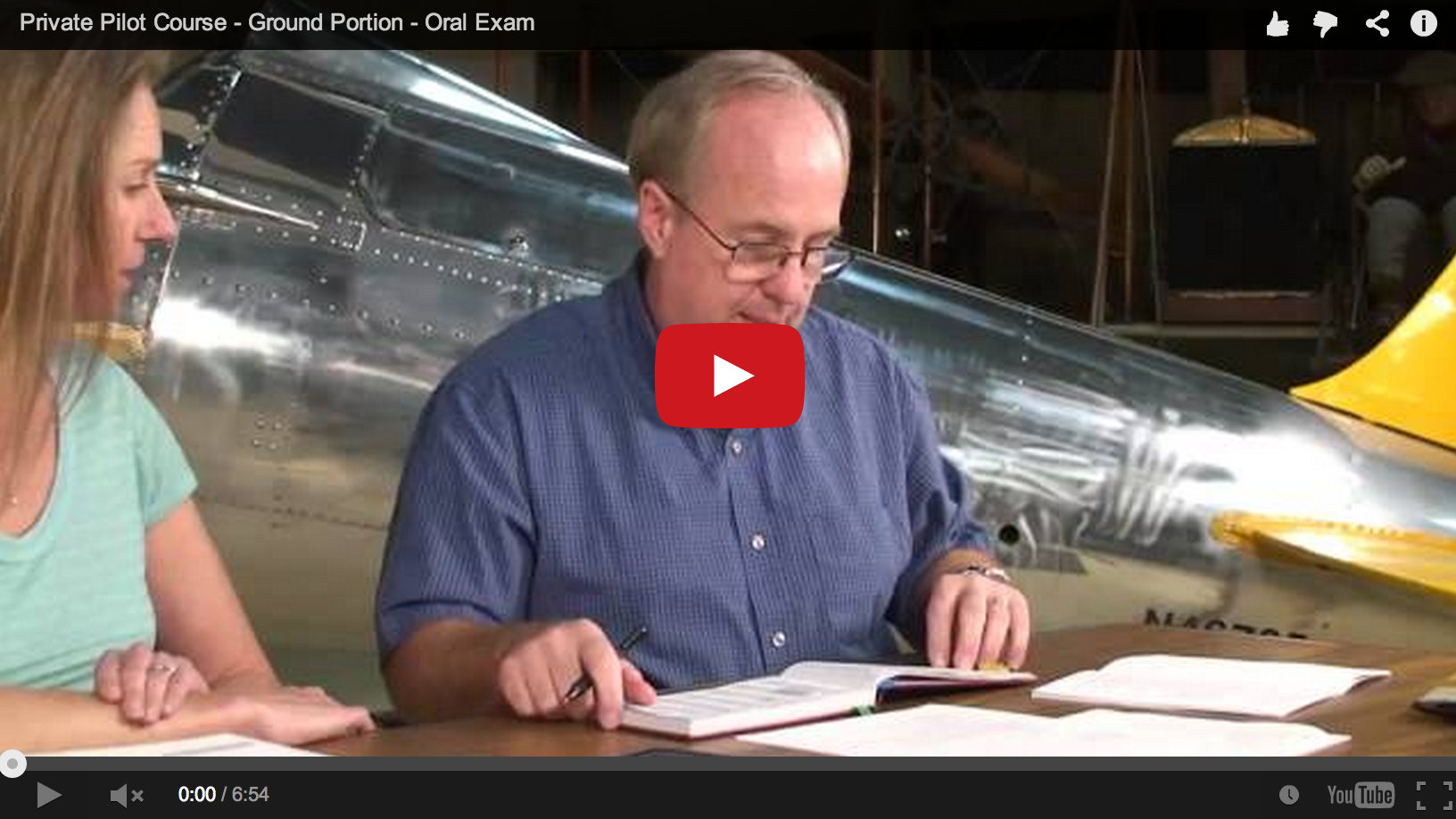 PRIVATE PILOT – ORAL EXAM